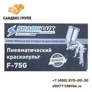 Краскопульт пневматический с верхним бачком SPARK LUX фото