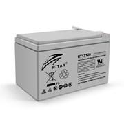 Аккумуляторная батарея AGM RITAR RT12120, Gray Case, 12V 12.0Ah (151х98х 95 (101) ) Q4 фото