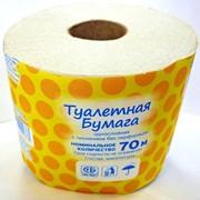 Бумага туалетная в рулончиках 70 м фото