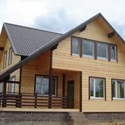Дом каркасный деревянный фото