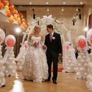 Оформление свадьбы воздушными шариками Киев фото