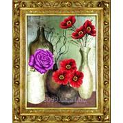 """Набор для рисования стразами """"Цветы мира"""" Y6032 фото"""