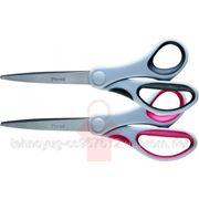 Ножницы, 20 см, Axent DUOTON, серо-красные (37106) фото