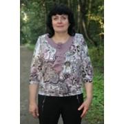 Женская одежда Блуза Глория брусника фото