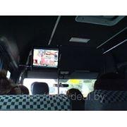 Видеореклама в маршрутных такси фото