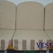 Пошив сидений на качели фото