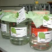Соки березовые в бутылках фото