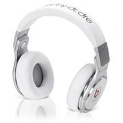 Pro Beats by Dr. Dre наушники полноразмерные проводные, Hi-Fi, Mic., оголовье, Белый фото