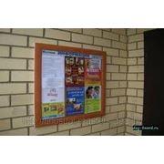Расклейка объявлений на этажах фото