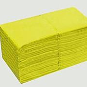 Салфетки PROFI- Стиль 1-сл. 300л. 24х24 (х15) ЖЕЛТЫЕ (в п/п упаковке) фото