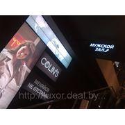 Интерьерная реклама, оформление интерьеров магазинов, офисов фото