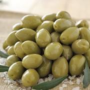 Оливки зеленые c косточкой 4,4 кг 2,5кг фото