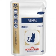 Renal Chicken Cat Royal Canin корм, Пауч, 0,100*12кг фото