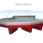 Витрина универсальная холодильная с высоким стеклом НЕМИГА EXTRA 187 ВСн фото