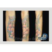 Закрытие шрамов татуировкой фото