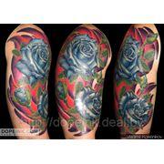 Татуировка Розы (4 сеанса) фото