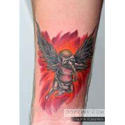 Татуировка Купидон (1 сеанс) фото