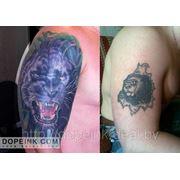 Татуировка Пантера (4 сеанса) фото