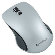 Коммутатор Logitech Wireless Mouse M560 Silver USB фото