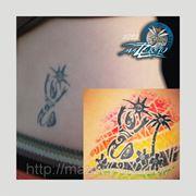 Исправление татуировки «Cover Up» фото