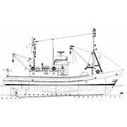 Рыбодобывающее судно типа СЧС 225 фото