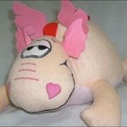 Валентинки Мягкая игрушка-подушка - Дракончик,подушки Валентинки, мягкие игрушки Валентинки фото