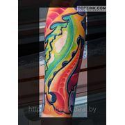 Татуировка Цветная (2 сеанса) фото