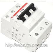 Автоматический выключатель abb(абб) 3-х полюсный -автомат abb SH 203 B16 A фото