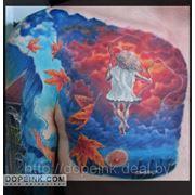 Татуировка Девочка на качелях (4 сеанса) фото