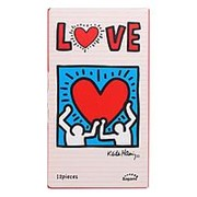 Презервативы Sagami LOVE Keith Haring - 12 шт. фото
