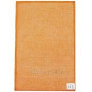 Салфетка кухонная плетеная оранжевая фото