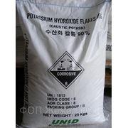 Калий едкий (гидрооксид) фото