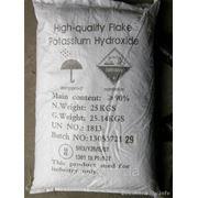 Гидроксид калия Корея мешок 25 кг фото