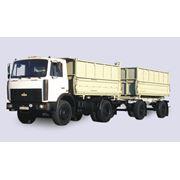 Грузовая техника МАЗ автомобили МАЗ Киев МАЗ 5551 (A2 47) предназначен для перевозки различных сельскохозяйственных сыпучих грузов в составе автопоезда фото