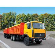 Самосвал-зерновоз б/у. МАЗ 551608236 грузовой самосвал 2006 года фото