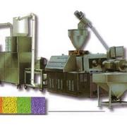 Линия для переработки отходов на базе экструдера с зоной дегазации фото
