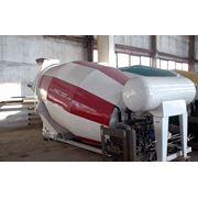 Бетоносмесительные установки объемом смесительного барабана 5 6 7куб. м. на шасси КрАЗ КамаЗ МАЗ фото