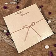 Приглашения на свадьбу (арт. 30324) фото
