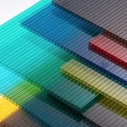 Сотовый поликарбонат от 3 до 10мм Доставка по всей области, Цветной и Прозрачный на складе. Размер 2,1х6м. Арт № 18-01-15 фото