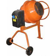 Бетономешалки электрические, бетономешалка AgriMotor 125 литров фото