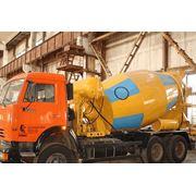 Бетоносмесительные установки объемом смесительного барабана 5 6 7куб. м на шасси КрАЗ КамаЗ МАЗ фото