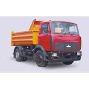 Грузовая техника МАЗ самосвалы МАЗ МАЗ 5551 (A5 45) предназначен для перевозки различных сыпучих грузов. фото