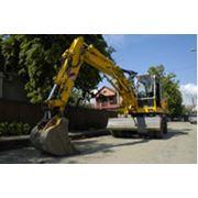 Аренда экскаваторов Либхер 900 (объем ковша 0,2-0,7), строительная техника фото