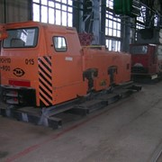Электровоз шахтный КН10 фото