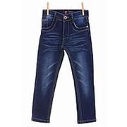 Элегантные джинсы синего цвета на флисе прямые 24 фото