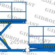 Стол подъемный гидравлический одноножничный Gidrolast 1X1500.1000.5000.840 фото