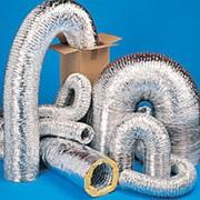 Гибкие воздуховоды и вентиляционные каналы фото