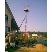 Гидроподъемник до 10 м (типа Тур-вышка) — (АРЕНДА) фото