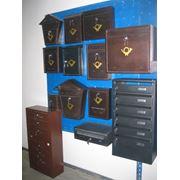 Ящики почтовые металлические (многосекционные на 568 квартир индивидуальные) фото