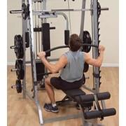 Профессиональный тренажер Body Solid Боди Солид GLA348QS Верхняя / нижняя тяга - ОПЦИЯ к тренажеру GS348Q. фото